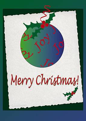 Christmas Joy Poster by Terri Harper