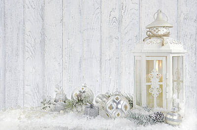 Christmas Lantern Poster