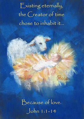 Christmas Light Card Poster