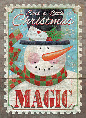 Christmas Magic Poster by P.s. Art Studios