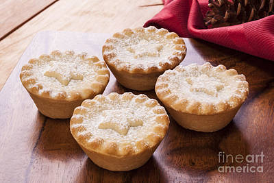 Christmas Mince Pies Poster by Colin and Linda McKie