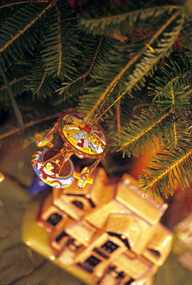 Christmas Ornaments IIi Poster by Harold E McCray