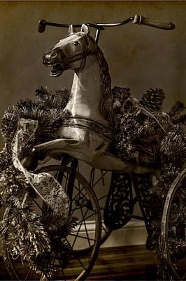 Christmas Pony Poster
