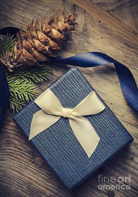 Christmas Present Poster by Jelena Jovanovic