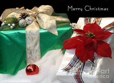 Christmas Presents Poster by Living Color Photography Lorraine Lynch