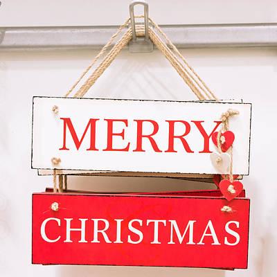 Christmas Sign Poster