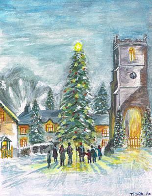 Christmas Spirit Poster by Teresa White
