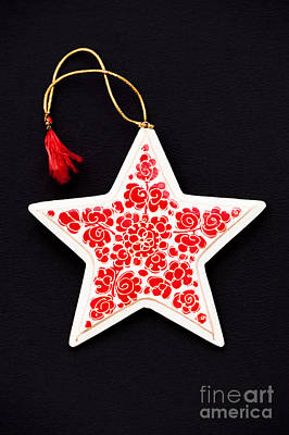 Christmas Star Poster by Anne Gilbert