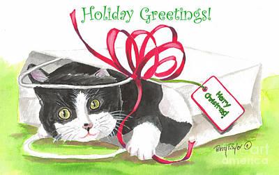 Christmas Surprise Greetings Poster
