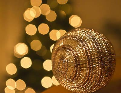 Christmas Tree Bokeh  Poster