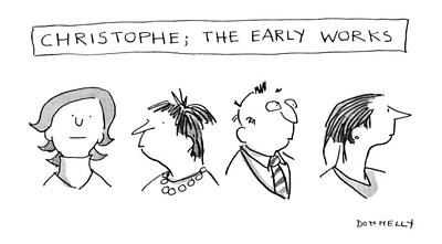 Christophe; The Early Works Poster
