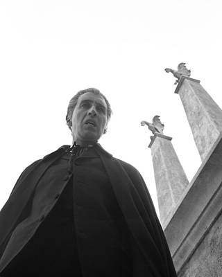 Christopher Lee In Dracula: Prince Of Darkness  Poster