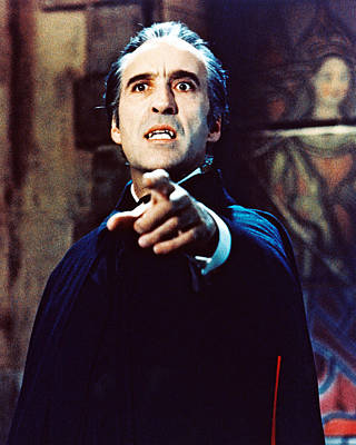 Christopher Lee In Taste The Blood Of Dracula  Poster by Silver Screen