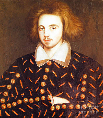 Christopher Marlowe, English Playwright Poster