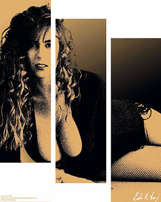 Christy Canyon In Copper Poster