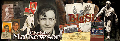 Christy Mathewson Panoramic Poster by Retro Images Archive