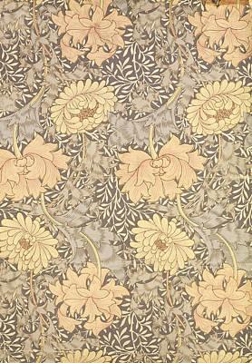 Chrysanthemum Poster by William Morris