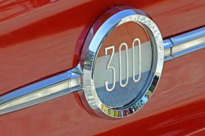 Chrysler 300 Poster by Susan Leggett