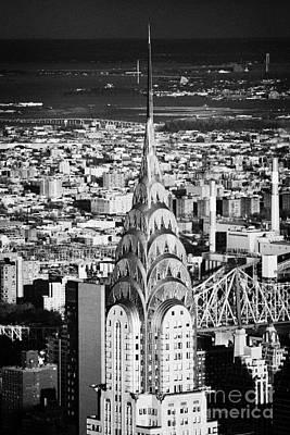 Chrysler Art Deco Building  New York City Skyline Cityscape Usa Poster by Joe Fox