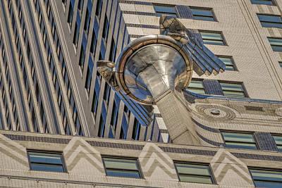 Chrysler Building Gargoyle Poster