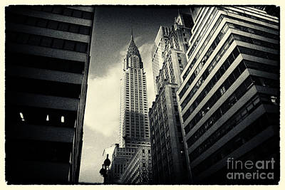 Chrysler Building New York City Poster by Sabine Jacobs