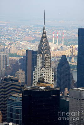 Chrysler Building - Nyc Poster by Christiane Schulze Art And Photography