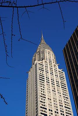 Chrysler Building Poster by Robert  Moss