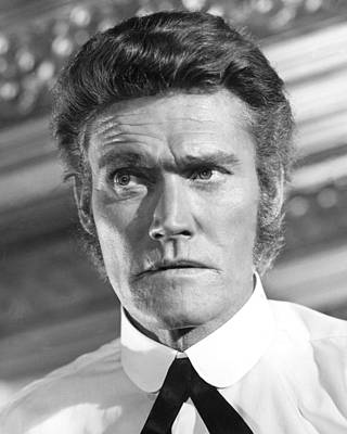 Chuck Connors Poster by Silver Screen