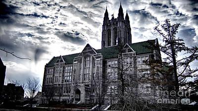 Church At Boston College Poster