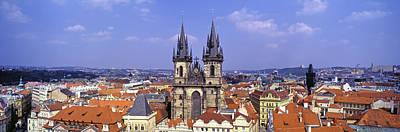 Church In A City, Tyn Church, Prague Poster