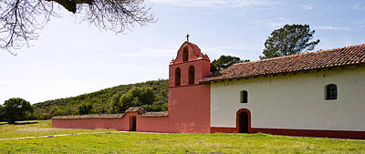 Church In A Field, Mission La Purisima Poster by Panoramic Images