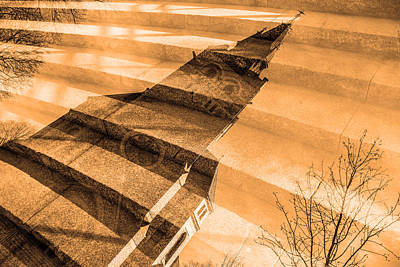 Church Mixed With Staircase Poster by Tommytechno Sweden