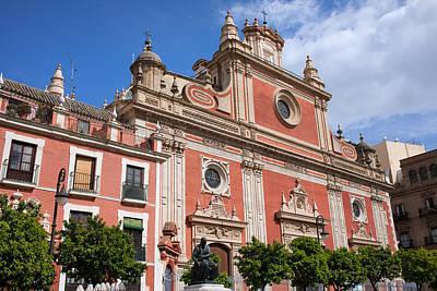 Church Of El Salvador In Seville Poster by Artur Bogacki