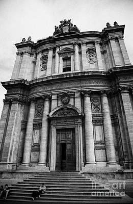 Church Of Santi Luca E Martina In The Imperial Forum Rome Lazio Italy Poster