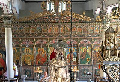 Church Of St Nicholas In Jeravna Poster