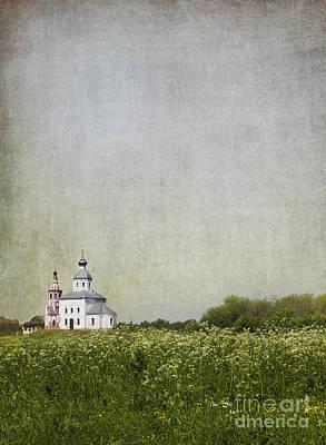 Church Of The Epiphany Suzdal Poster by Elena Nosyreva