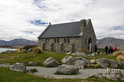 Church Of The Good Shepherd Lake Tekapo New Zealand Poster by Jason O Watson