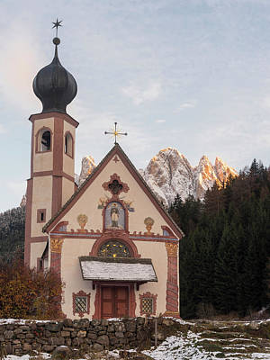 Church Sankt Johann In Ranui (st Poster by Martin Zwick