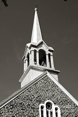 Church Steeple Poster by Sarah Mullin