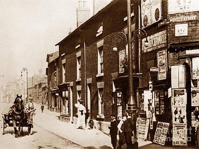 Church Street Warrington England Poster