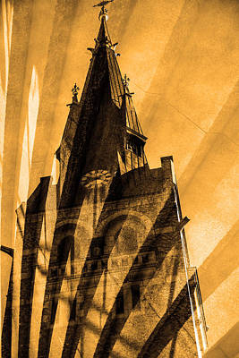 Church Poster by Tommytechno Sweden