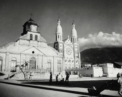 Churches In Haiti Poster by Cecil Beaton