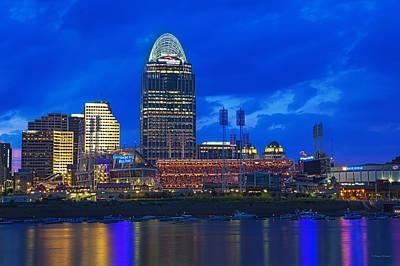 Cincinnati At Sunset Poster