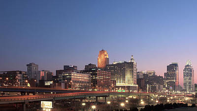 Cincinnati In Morning Twilight Poster