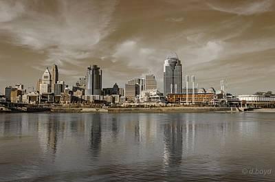 Cincinnati Riverfront Poster