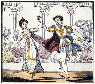 Cinderella At The Ball Poster by Granger