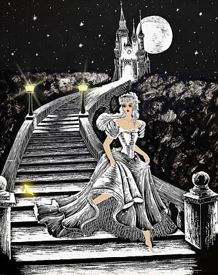 Cinderella Poster by Svetlana Sewell