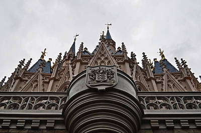 Cinderella's Castle Poster by Rachael M
