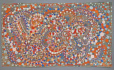 Circle Dance 2 Poster by Nancy Kane Chapman
