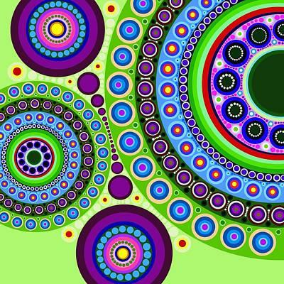 Circle Motif 121 Poster